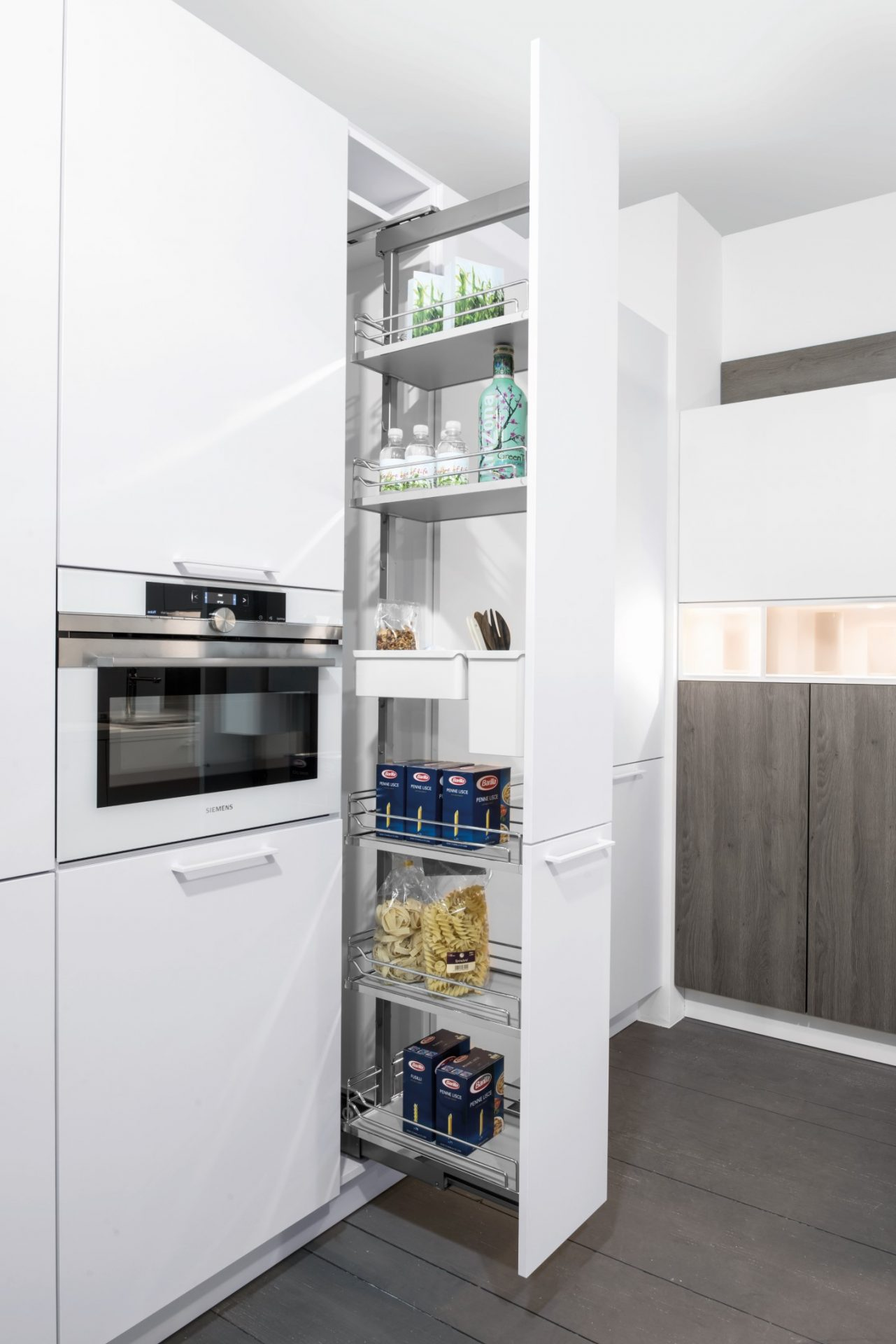 Ceiling To Floor Pull Out Kitchen Cupboard 6 Tier
