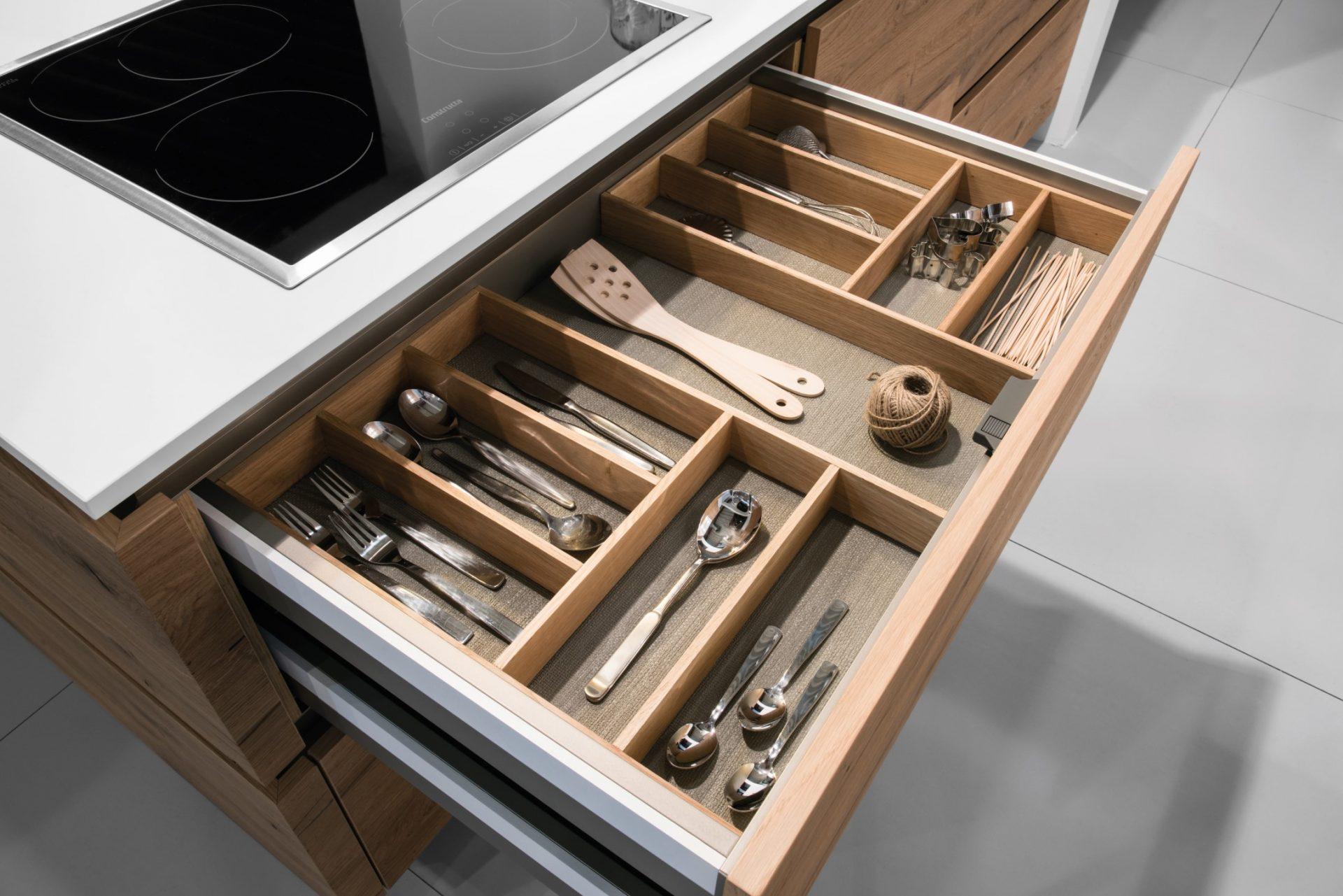 Custom Kitchen Cutlery Tray