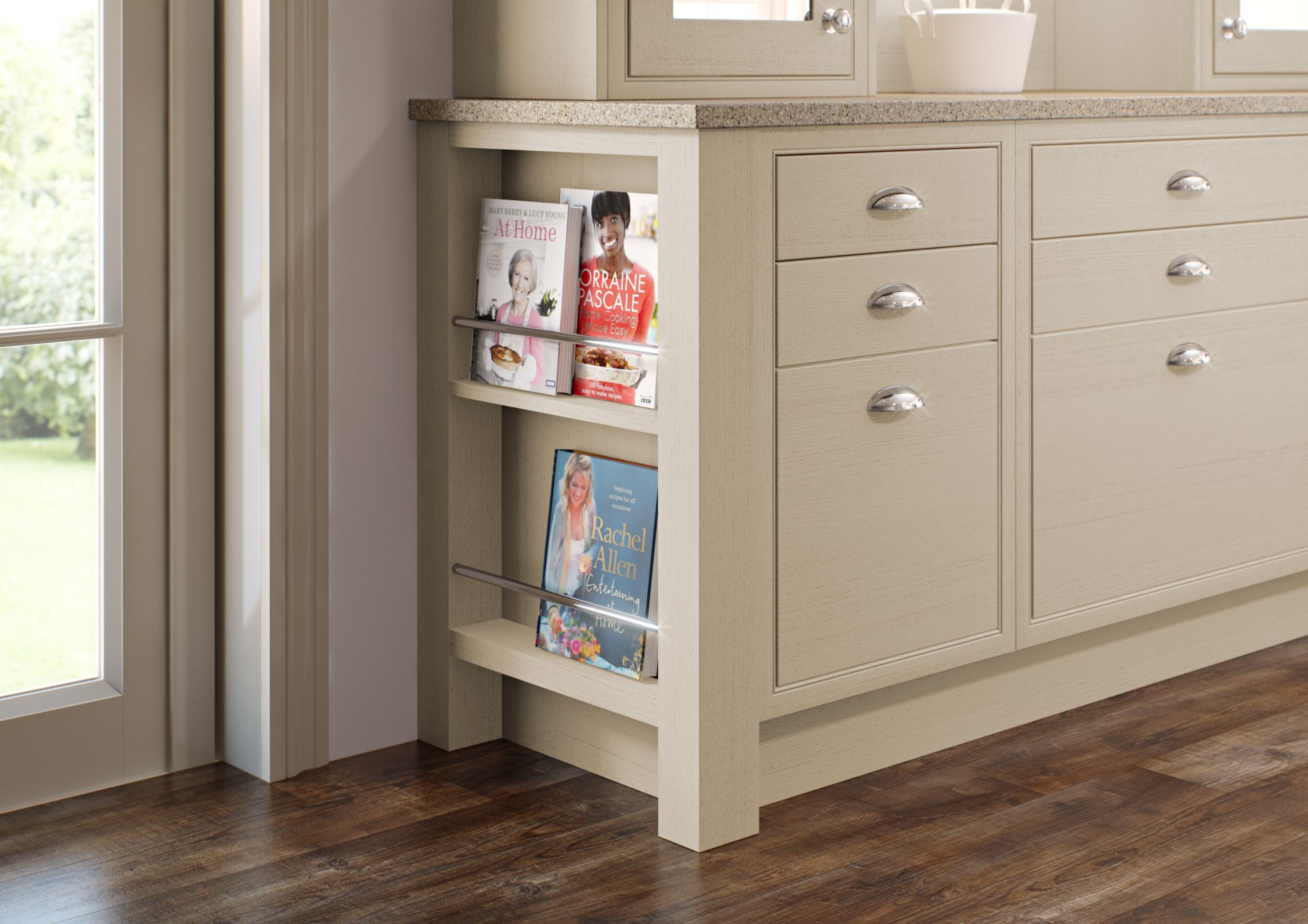 Feature Book End Cabinet