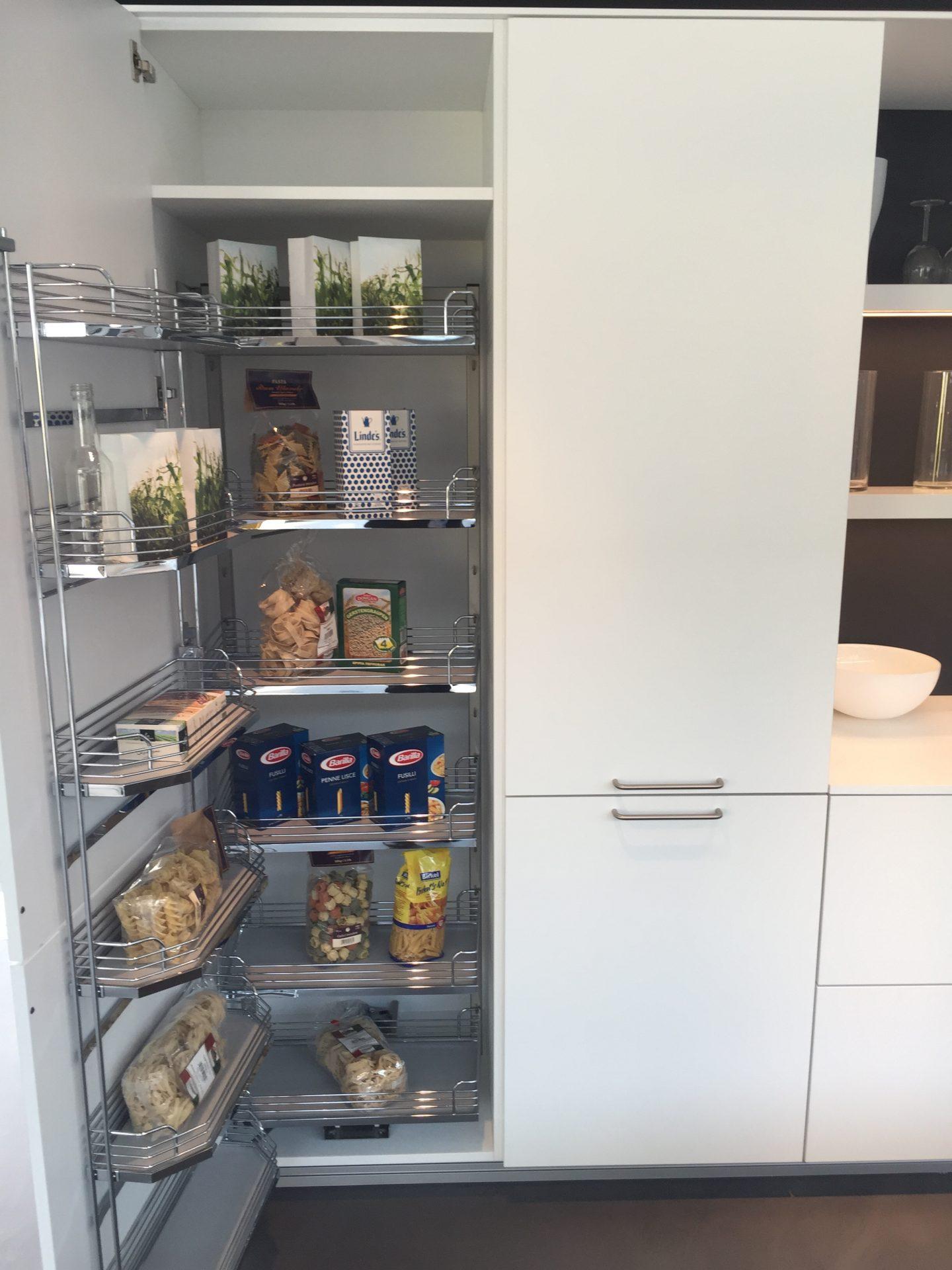 Kitchen Cupboard Storage Shelves On Opening Door