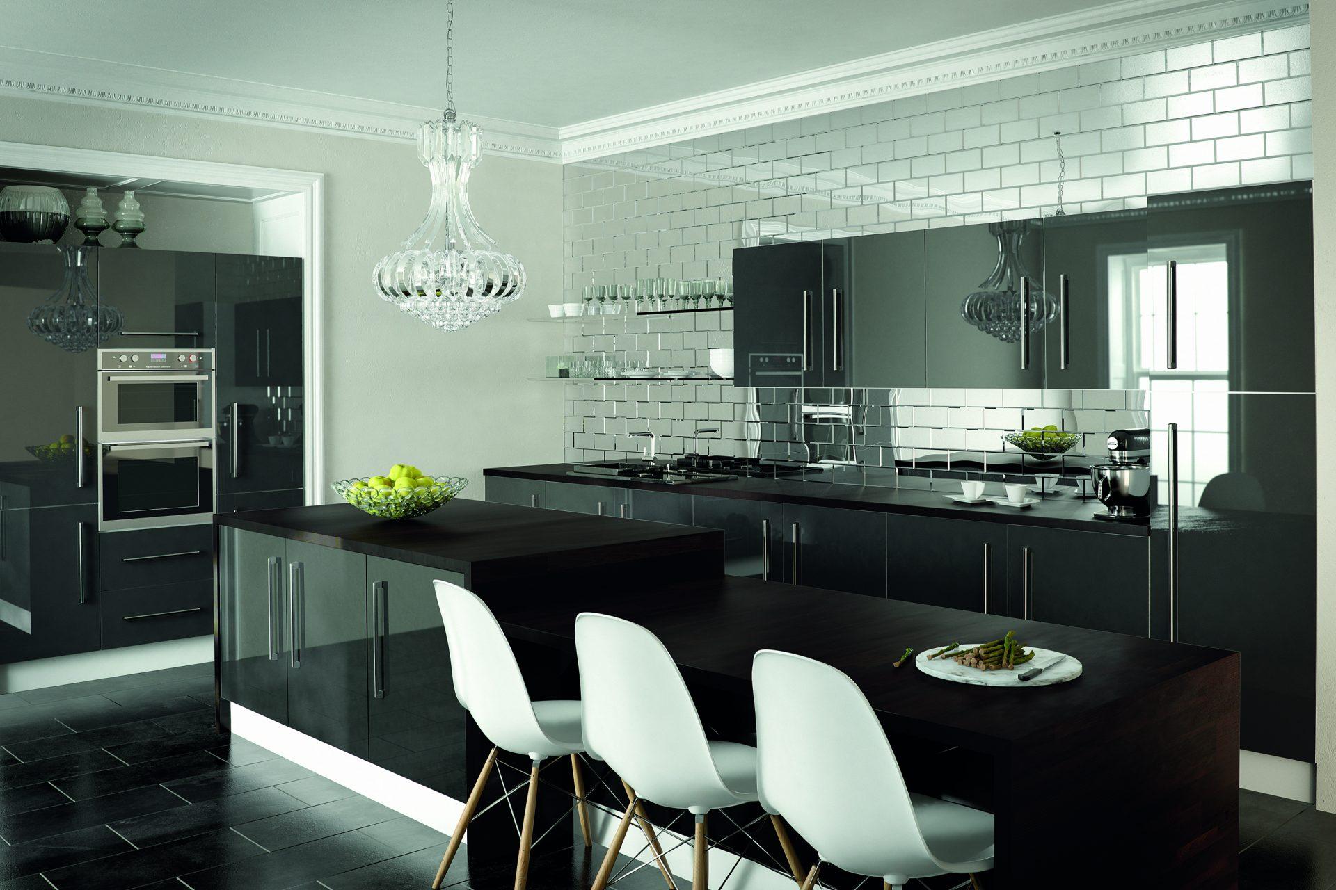 Metallic Anthracite Kitchen