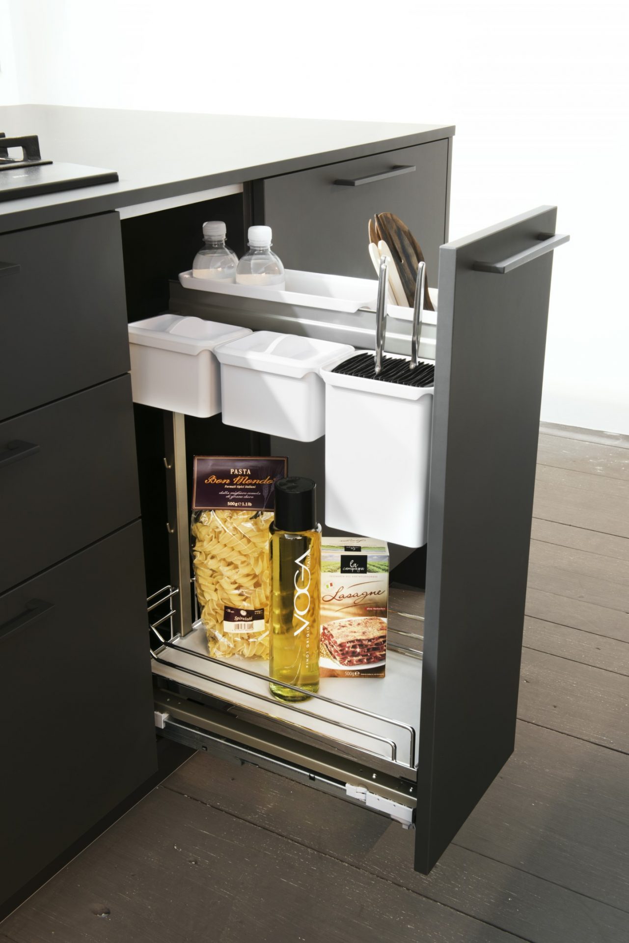 Pull Out Narrow Storage Unit