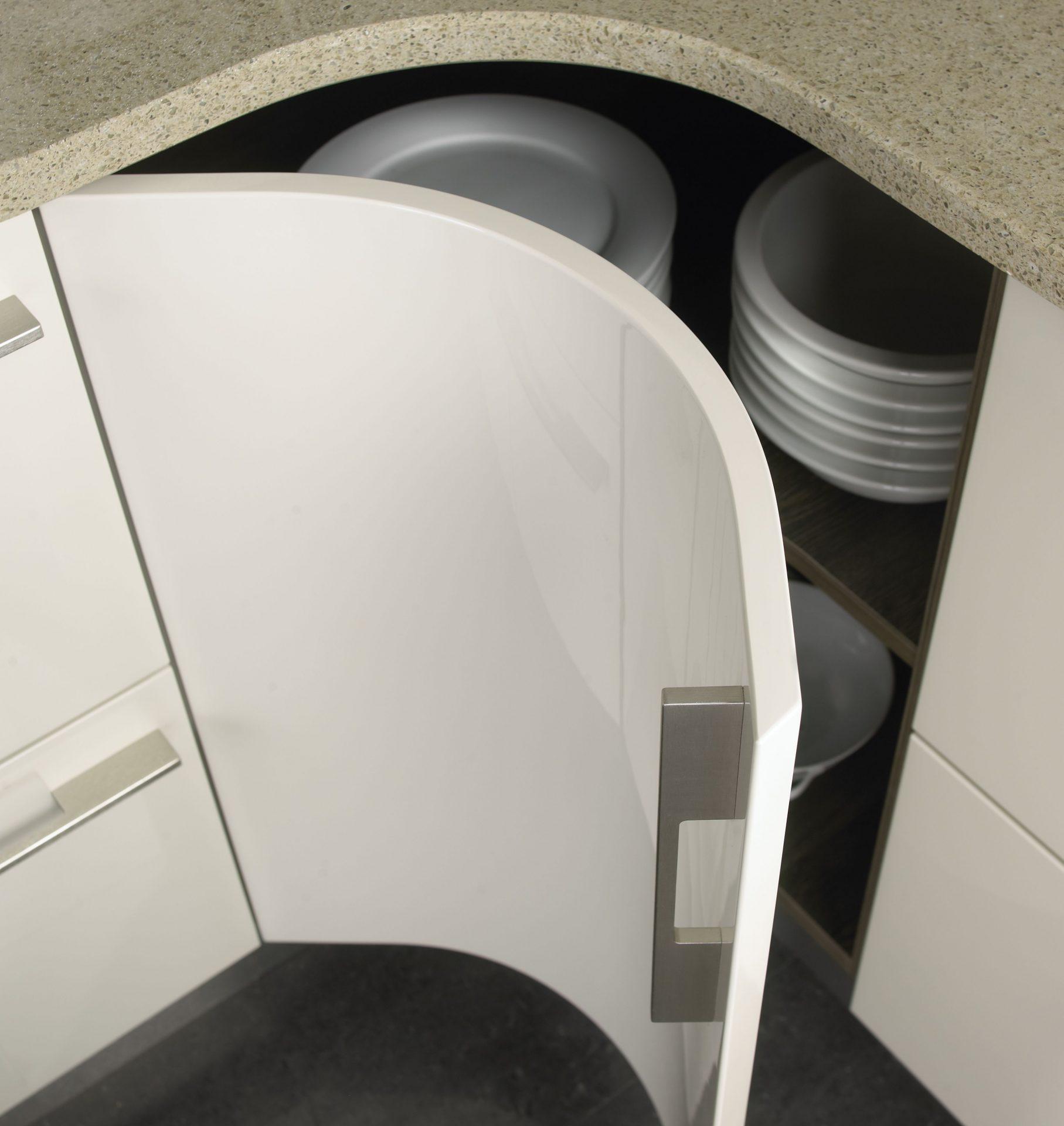 Pergamon Gloss Internal Curved Base Unit