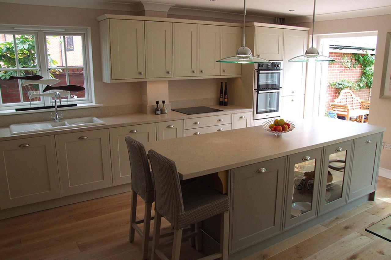 Classic Matt Stone Grey Kitchen - Bridgenorth Shropshire