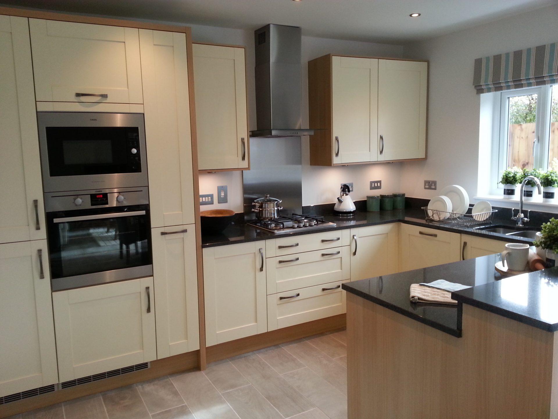 Gala Oyster British Kitchen Design - Shropshire
