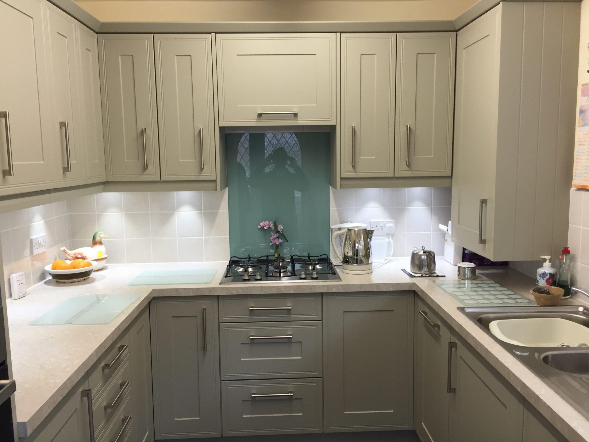 Oak Grey Classic Kitchen - Leegomery Telford