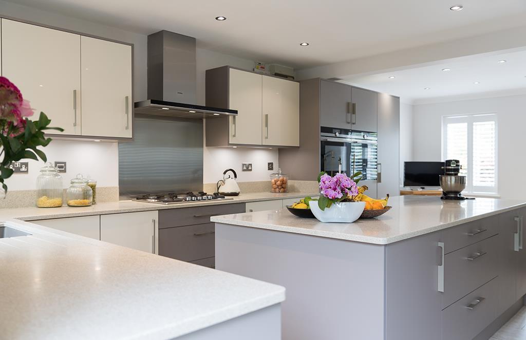 Ultragloss Cream Kitchen Design - Shropshire