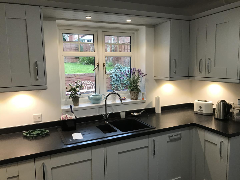 Wilton Oakgrain Grey British Kitchen Design - Shropshire