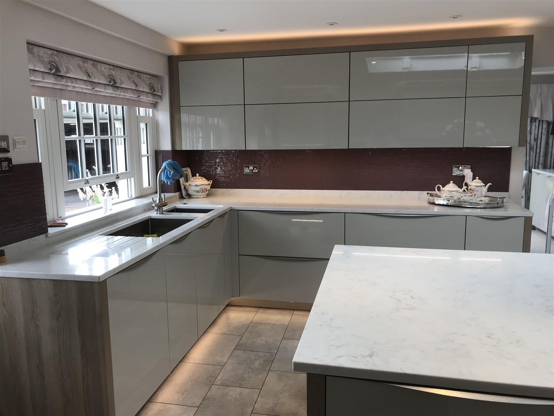 German Granite Kitchen Installation - Shropshire