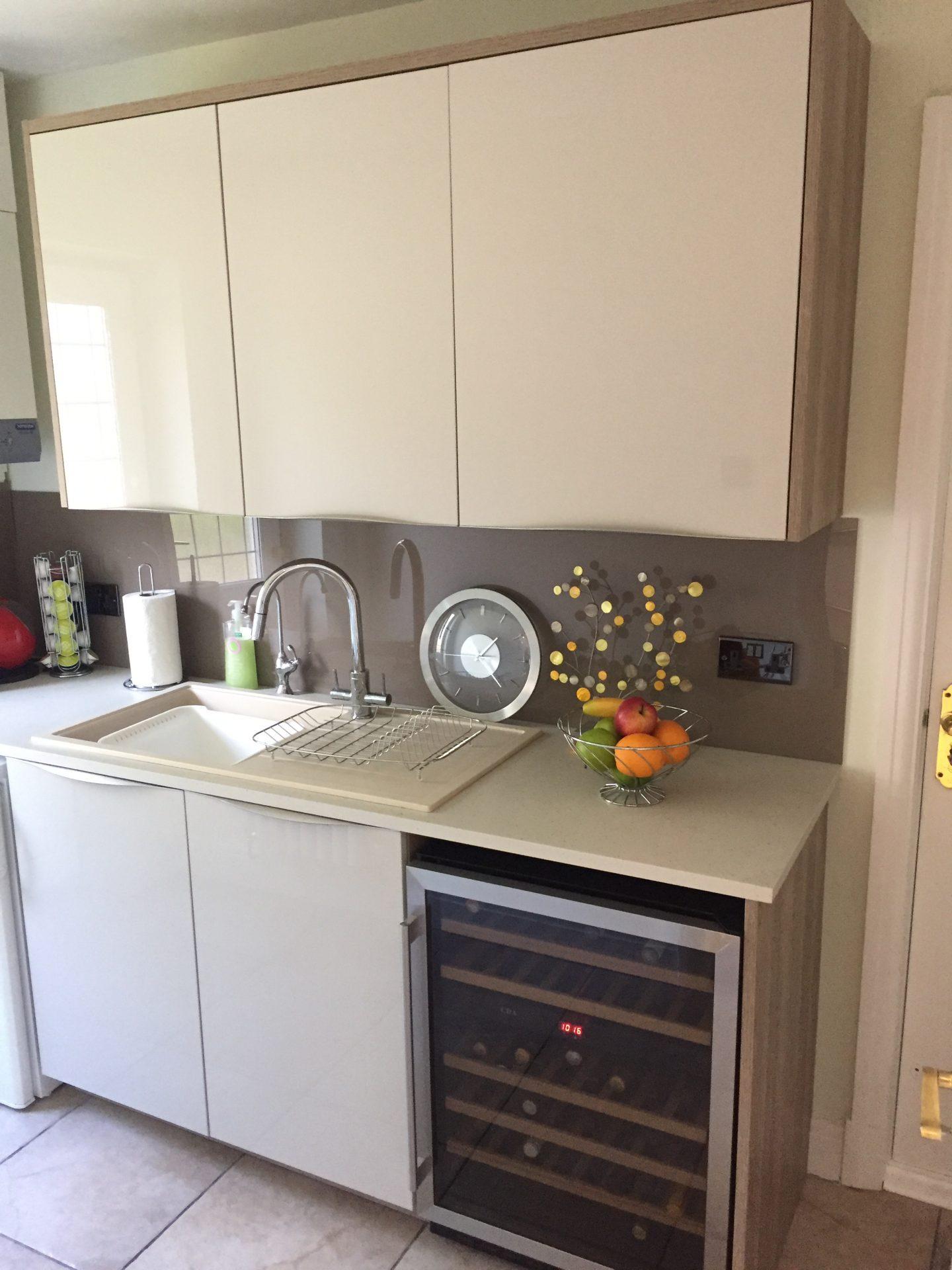 German Kashmir Bardolia Kitchen Install - Shropshire