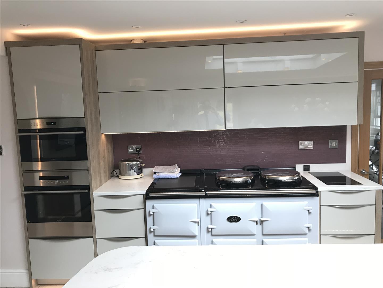 Modern German Granite Kitchen - Bridgnorth