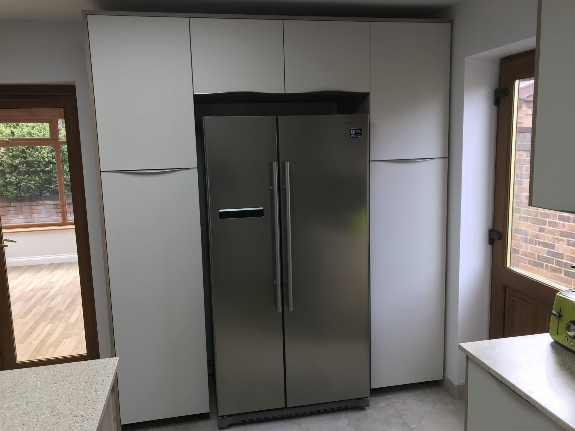 Modern German Supermatt Kashmir Kitchen - Muxton, Telford