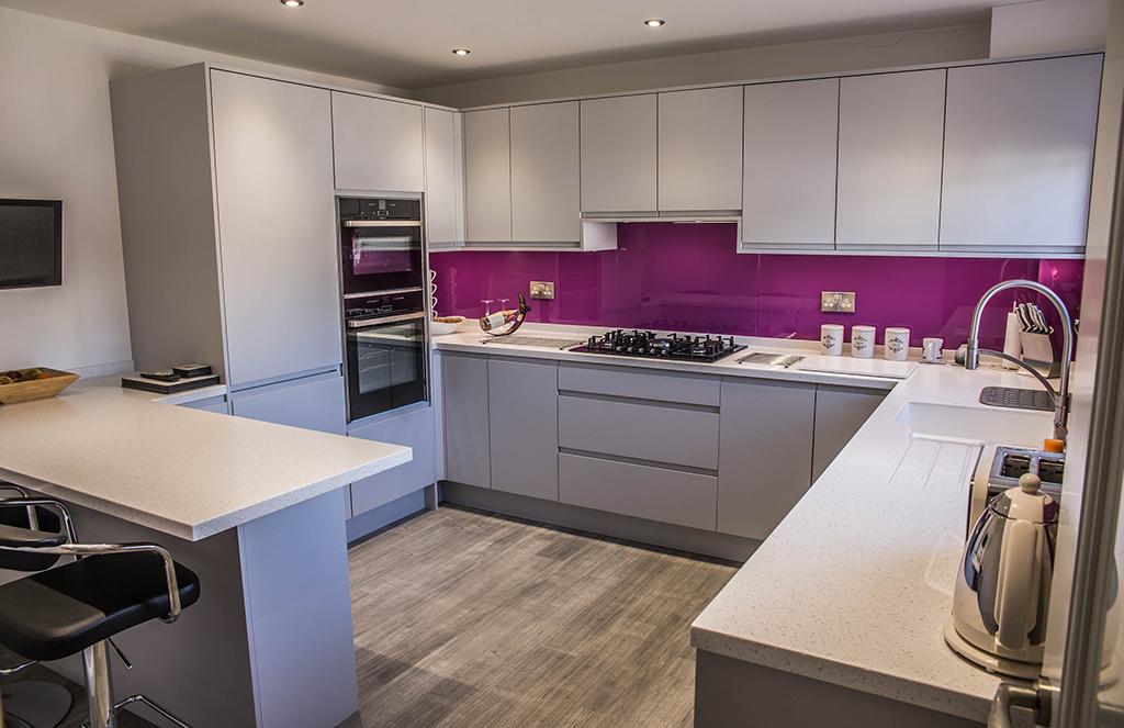 Modern German Supermatt Kitchen - Priorslee Telford